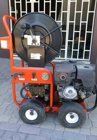 Plumbing machine